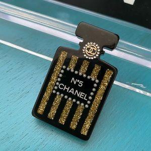 Chanel perfume Bottle Pin